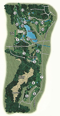 Course Map The Golf Club At Blue Heron Hills