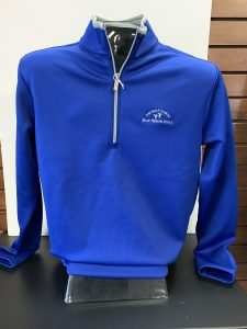Antigua Mens Quarter Zip Leader